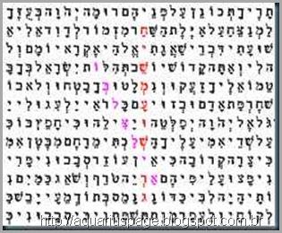 O Código na biblia