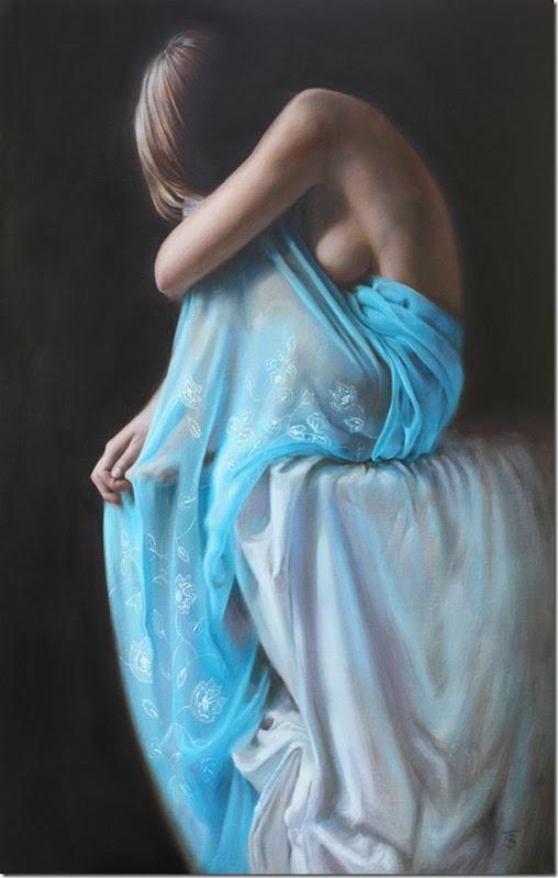 blue veil iii-Tina-Sprat-ENKAUSTIKOS