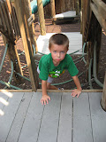 Bryan playing at the Jungle Gym at the Nashville Zoo 09032011