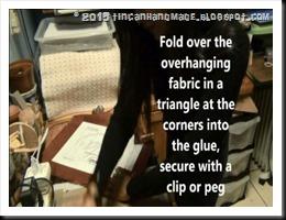 Fold over corners
