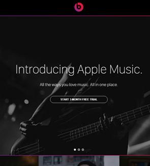 12 diseños de sitios web con el color negro como predominante