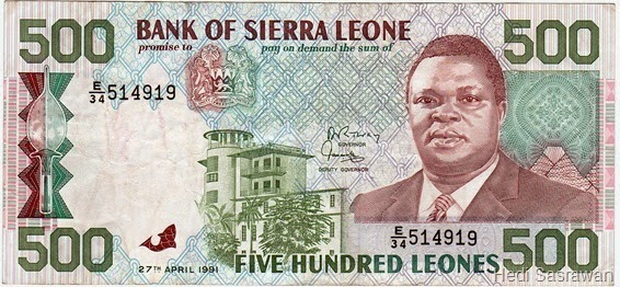 Mata uang Leone