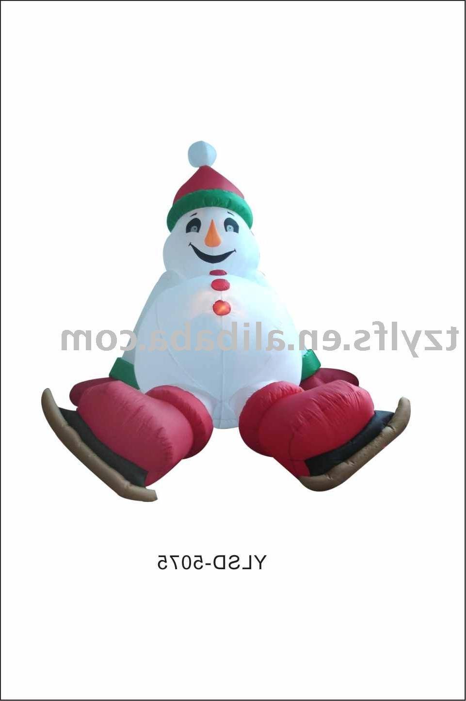 See larger image: Inflatable Christmas Cartoon Christmas Figure