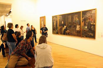 """Formação na Pinacoteca propõe """"diálogo com a arte"""" nas escolas"""