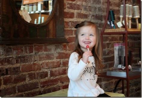 Zoey's First Hair Cut35