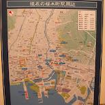 yokohama map in Yokohama, Tokyo, Japan