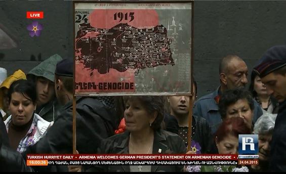 imatge de la commemoracion del genocidi dels Armenians 16