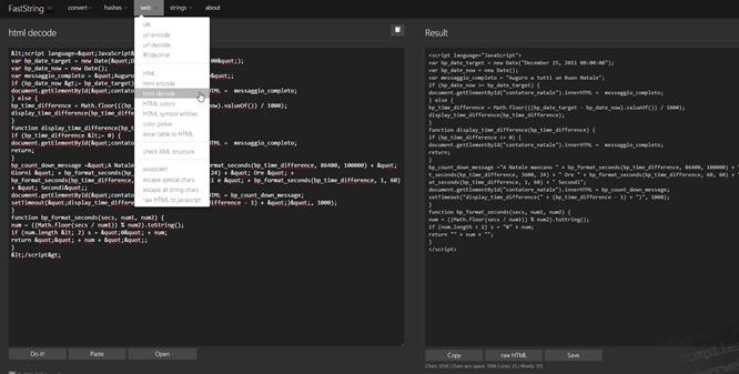 convertire-html-xml