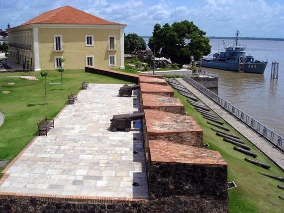 Forte do Presépio - Belém do Parà, fonte: Portal Amazonia
