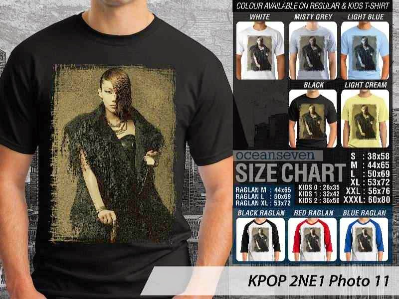 Kaos 2ne1 11 Photo K Pop Korea distro ocean seven
