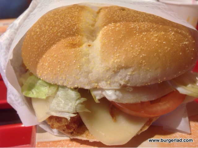 Burger King Spanish Tendercrisp