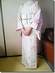 小紋に名古屋帯でお茶会に (10)