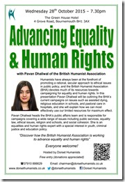 Advancing Equality & Human Rights 28 October 2015