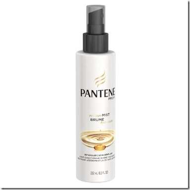 Pantene hair conditioning spray
