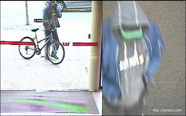 bicycle bank robber