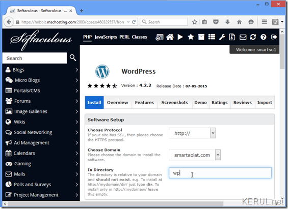 wordpress-folder