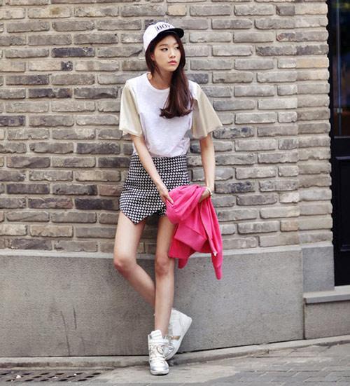 Chon chan vay dep diu dang cho nang cong so 18