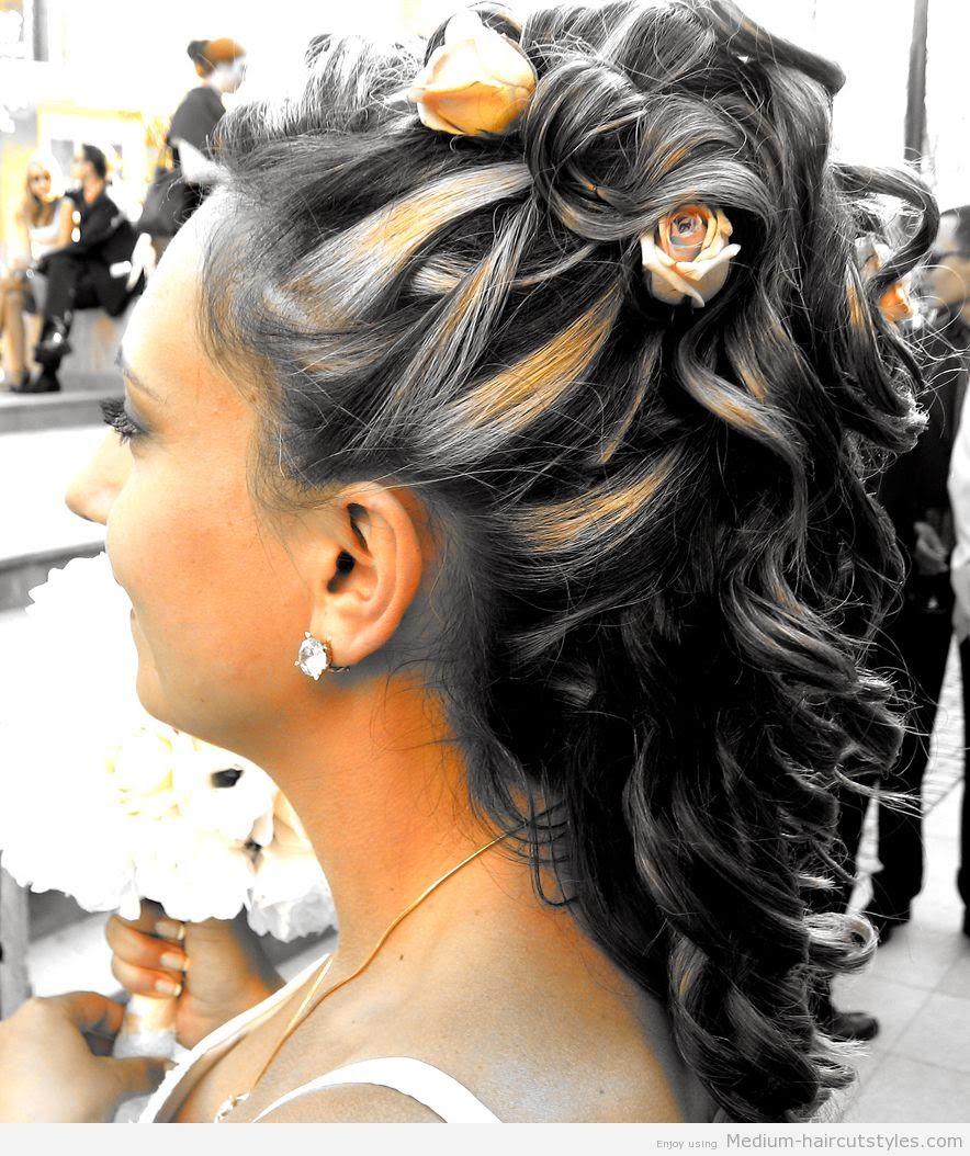 Фото укладки волос прически