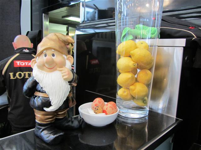 Гном Lotus и лимоны на Гран-при Великобритании 2012