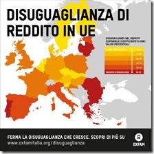 Diseguaglianza di reddito in UE