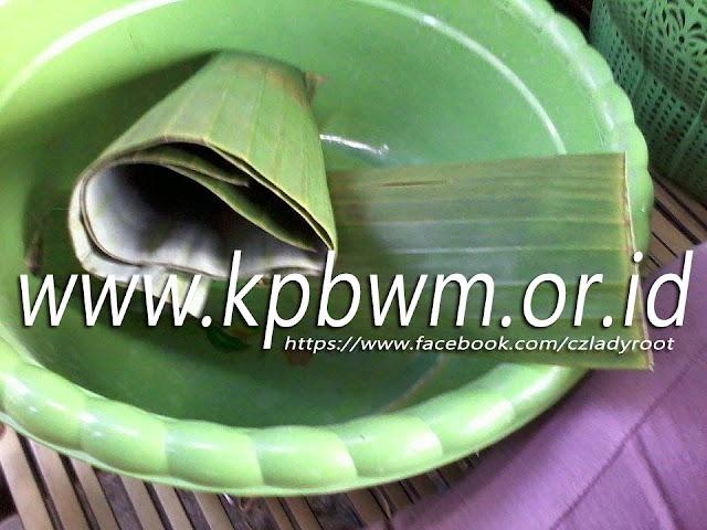 bahan daun pisang pembungkus lopis