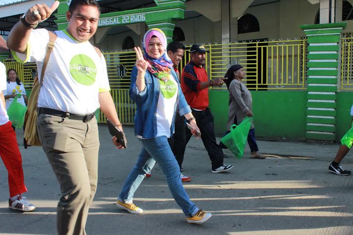 Fun Walk 2015 bersama Bupati Bantaeng dan Gubernur SulSel-3