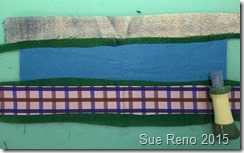 Sue Reno, 52 Ways to Look at the River, WIP 6