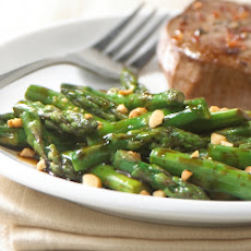 Stir-Fry Asparagus with Peanuts