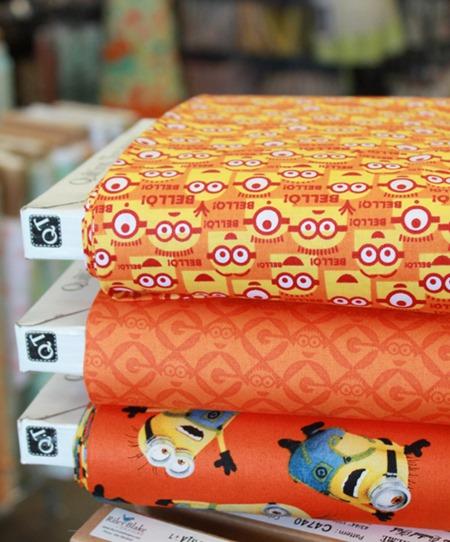 Minions fabric 4