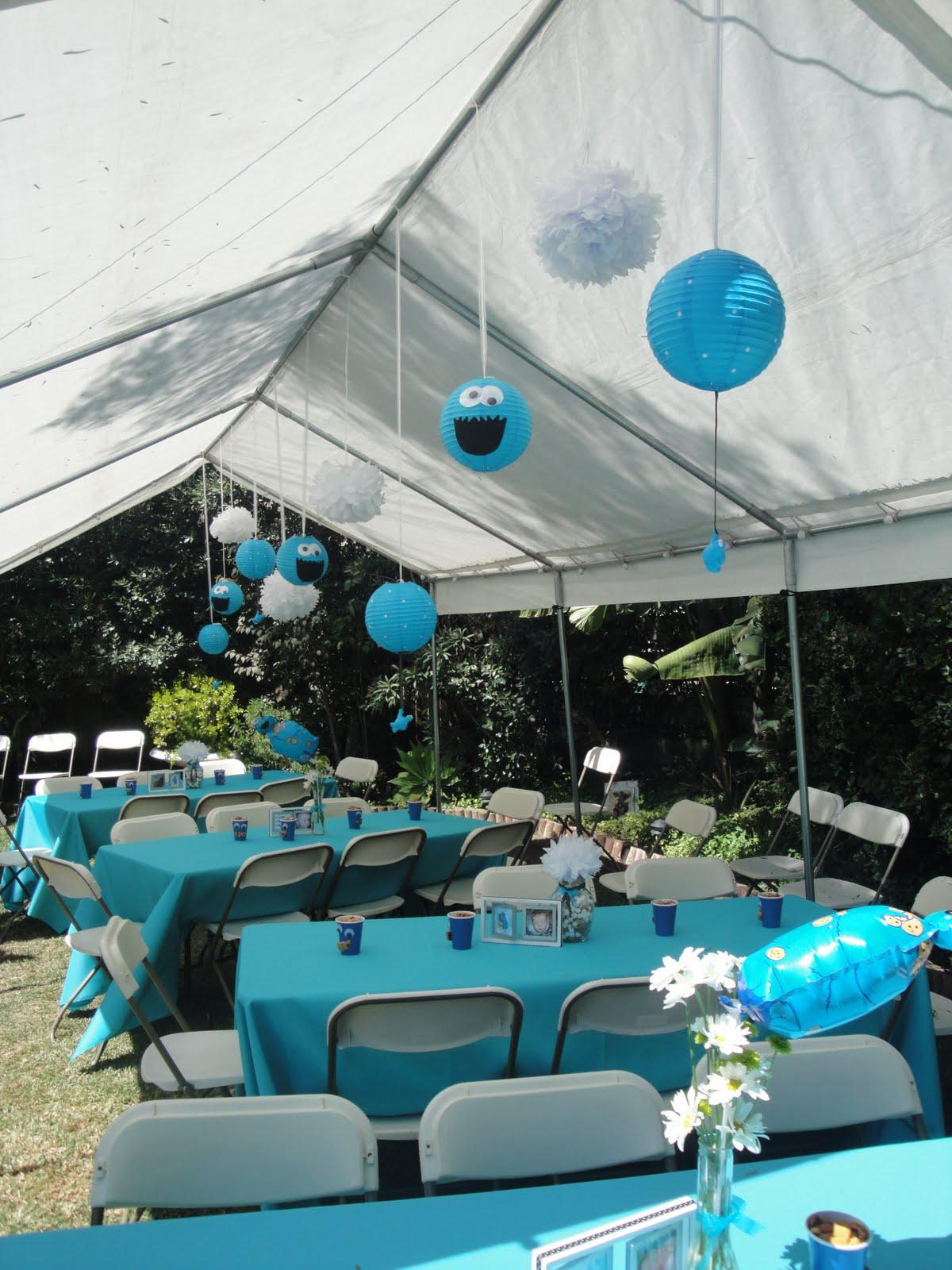 Wedding tents with paper
