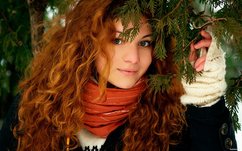 Фотографии рыжих красивых девушек 8 фотография