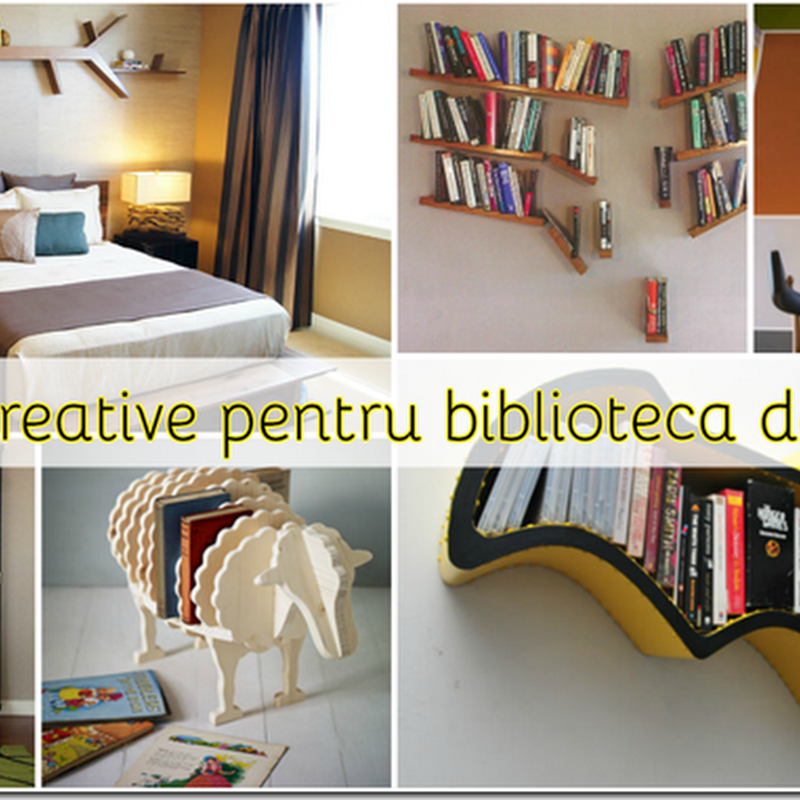 84 Idei creative pentru biblioteca personală