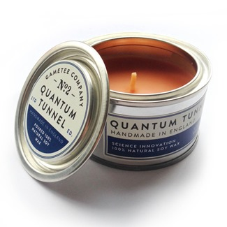 Quantum Tunnel Candle from Game Tee