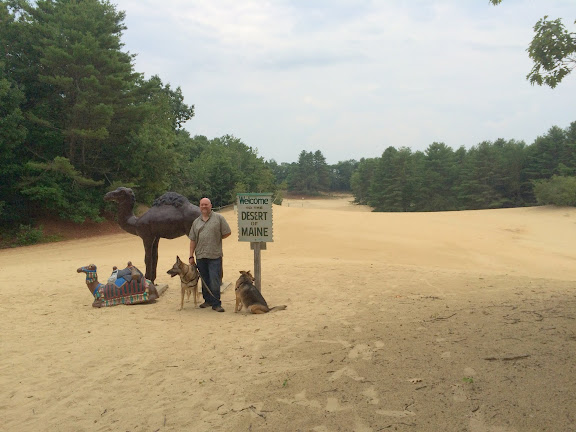 Welcome to the Desert of Maine (Rainah is still not cooperating)