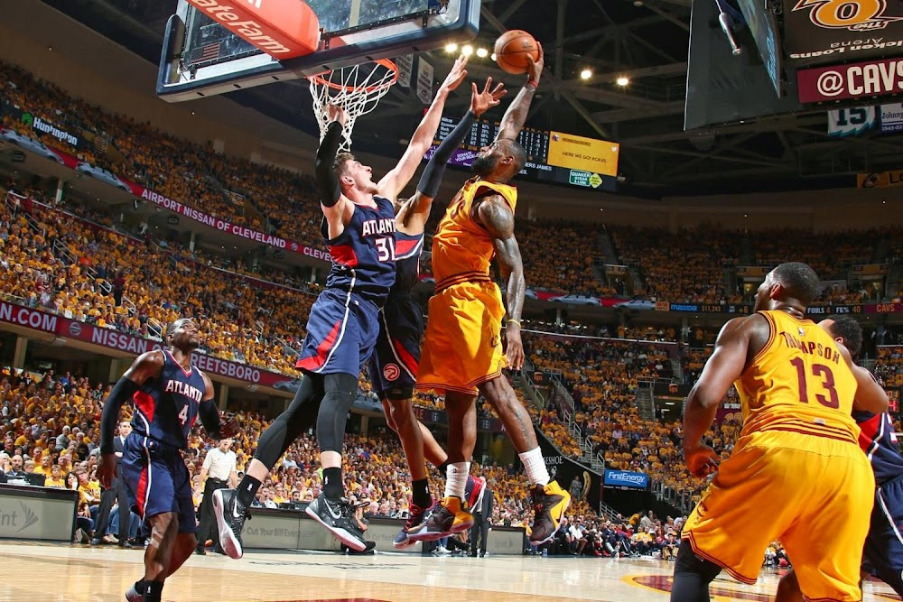 Ranking LeBron's Best Playoffs Dunks of His Career | NIKE ...