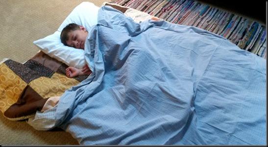 Aidan's bed