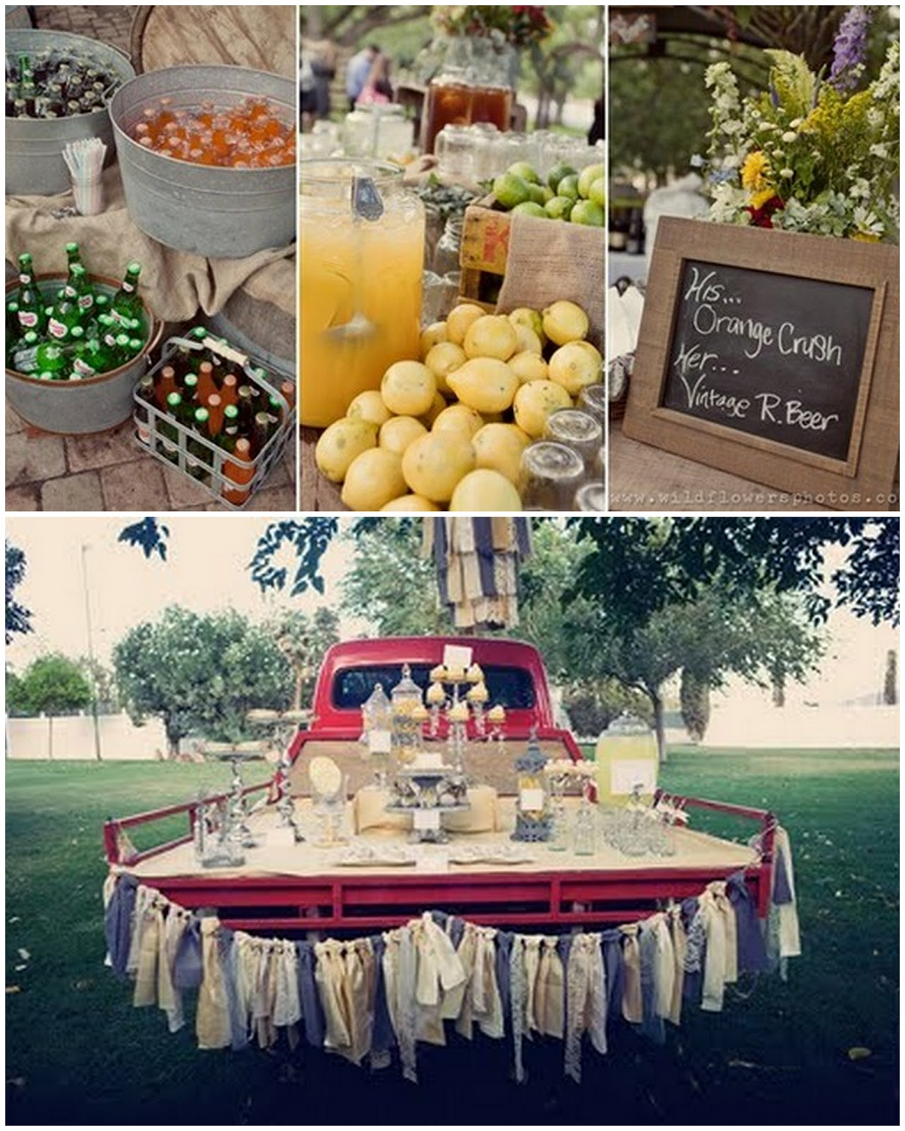 a country style wedding