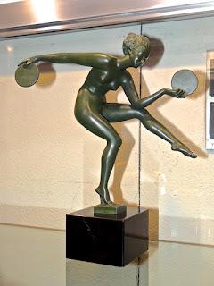 Бронзовая скульптура в стиле Арт Деко. ок.1900 г.