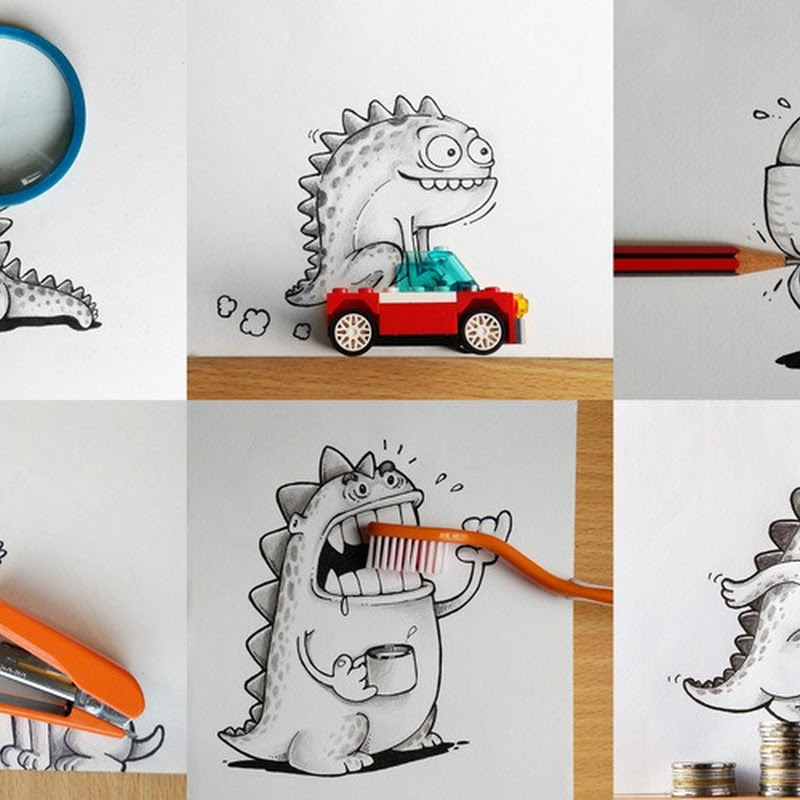 Manik & Ratan's Pet Dragon Interacts With Everyday Objects