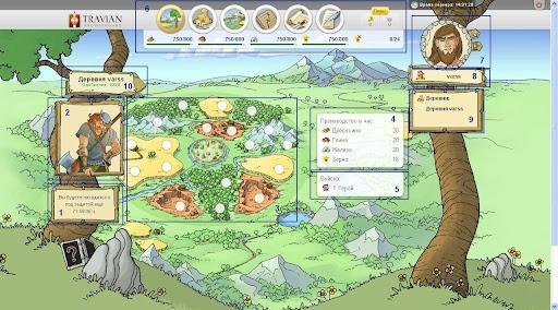Золотые деревни в травиане сервер 6