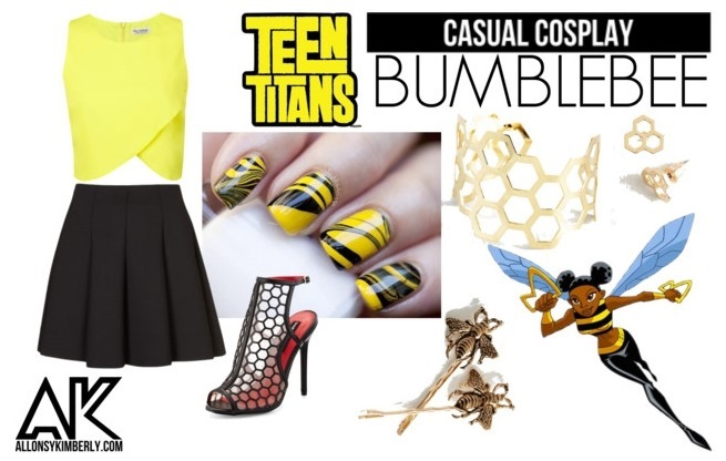 Casual Cosplay: Bumblebee (Teen Titans) | allonsykimberly.com
