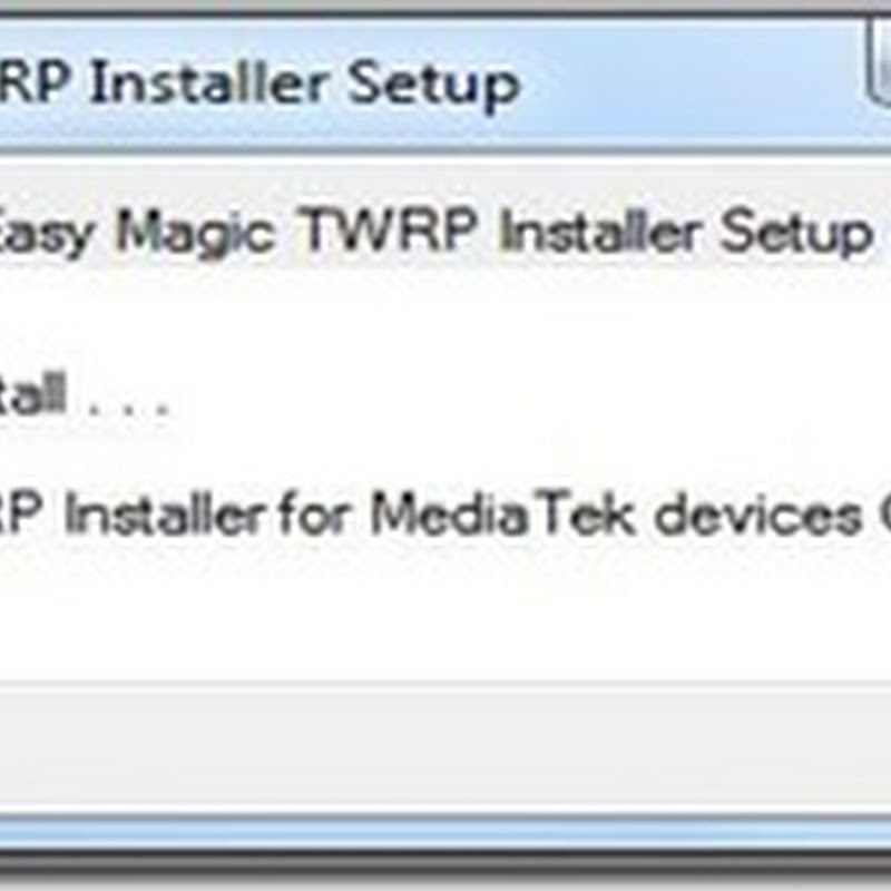 How to Install Twrp Recovery On Your Mtk Device