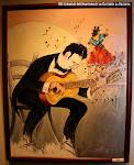 """Miguel Martí. """"El Concertista"""". Acrílico sobre lienzo"""