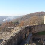 Château de la Madeleine : rempart