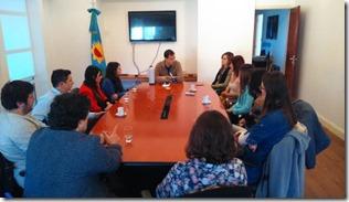 Reunión con los nuevos profesionales recibidos en La Costa