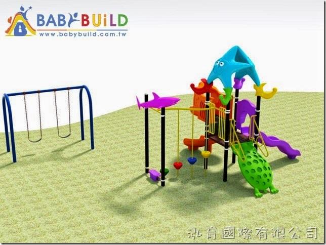 BabyBuild 私人住宅庭院遊具規劃