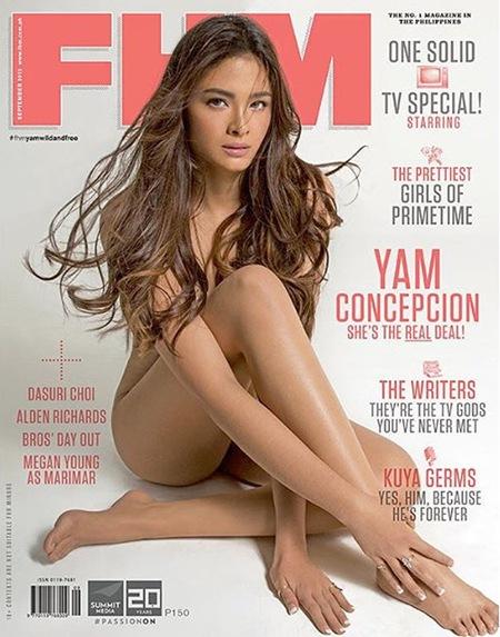 Yam Concepcion for FHM PH Sept. 2015