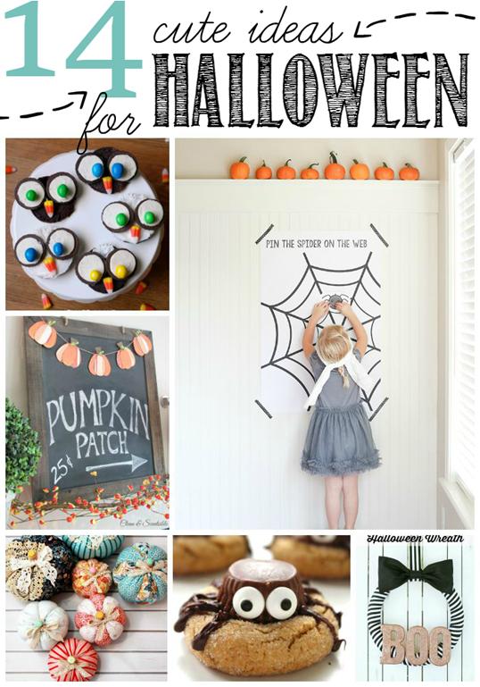 14 Cute Ideas for Halloween