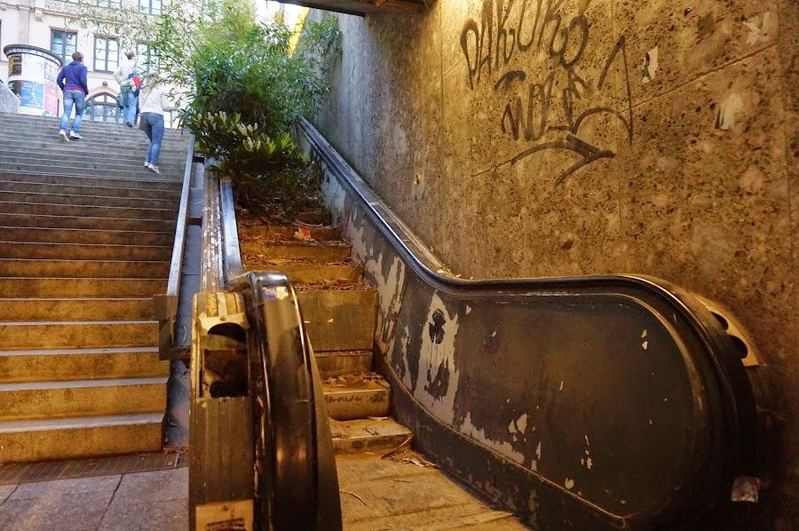Подземный переход в Мюнхене