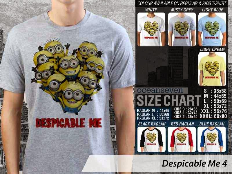 KAOS Despicable me 4 Movie Animation distro ocean seven